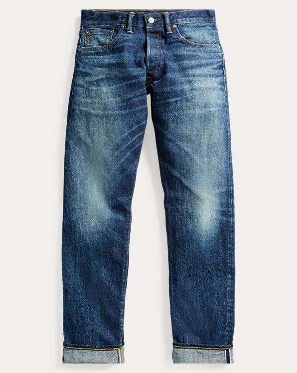 Straight-Fit Selvedge-Jeans