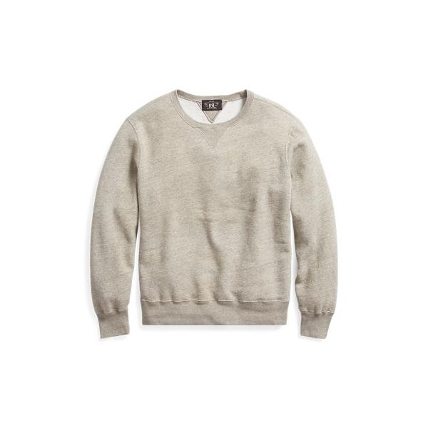 Ralph Lauren Cotton-Blend-Fleece Sweatshirt Camp Heather Xl