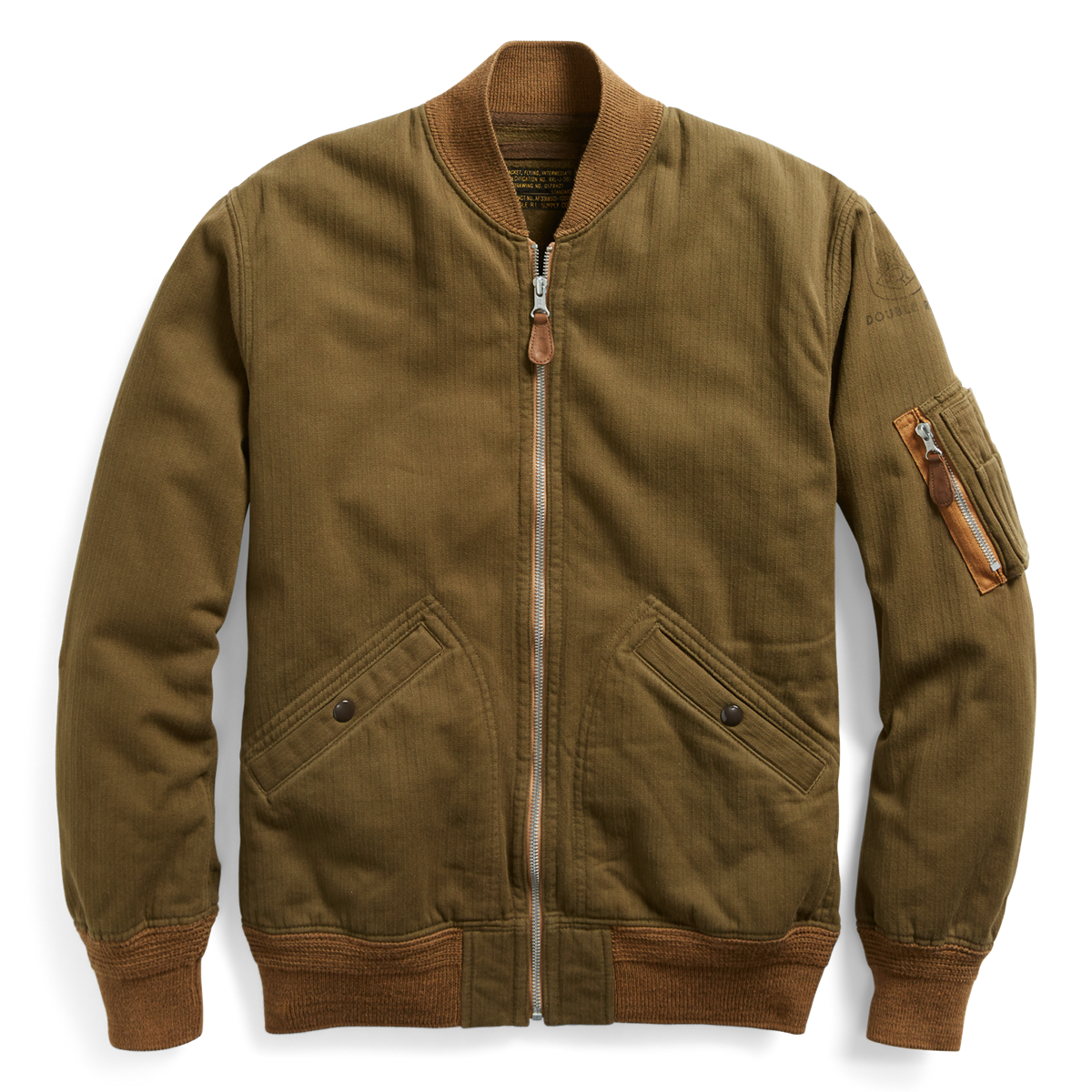1c2e4c460 Cotton Twill Bomber Jacket