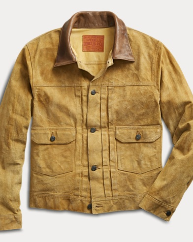 Roughout Suede Jacket