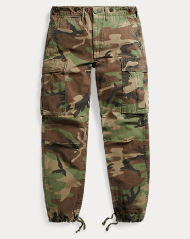 Camo Cotton Surplus Cargo Pant