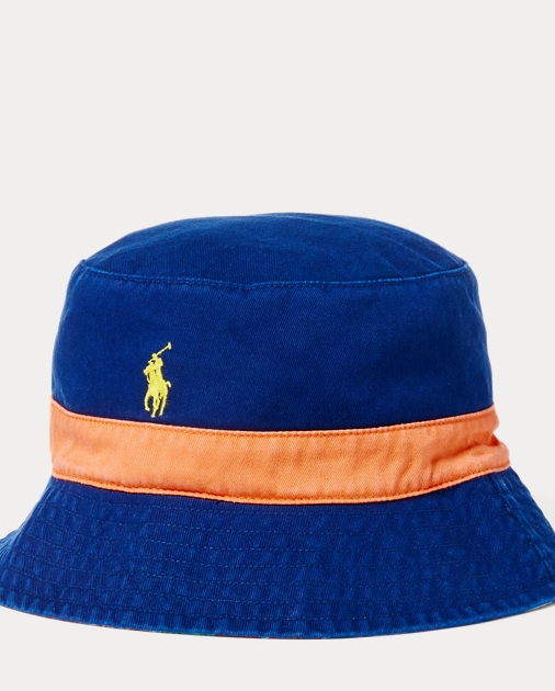 73065c72eb0 Polo Ralph Lauren Reversible Chino Bucket Hat 1