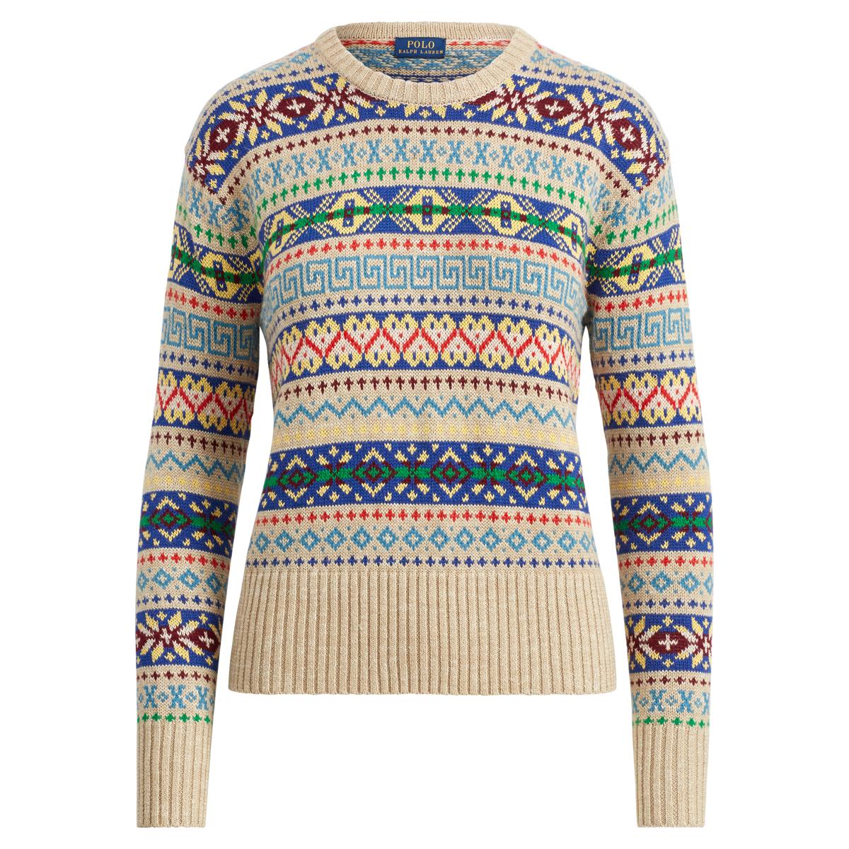 e03e8d58b Fair Isle Crewneck Sweater