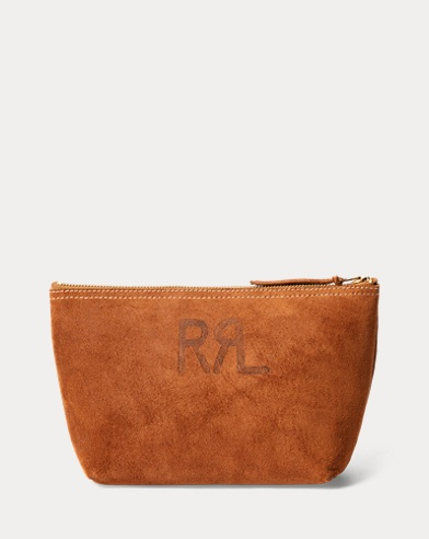 Roughout Suede Pouch