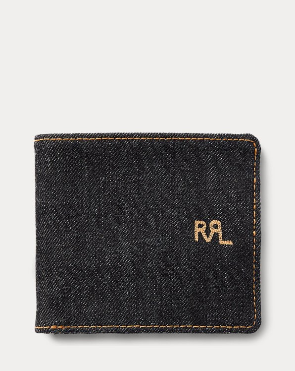 Porte billets en denim selvedge
