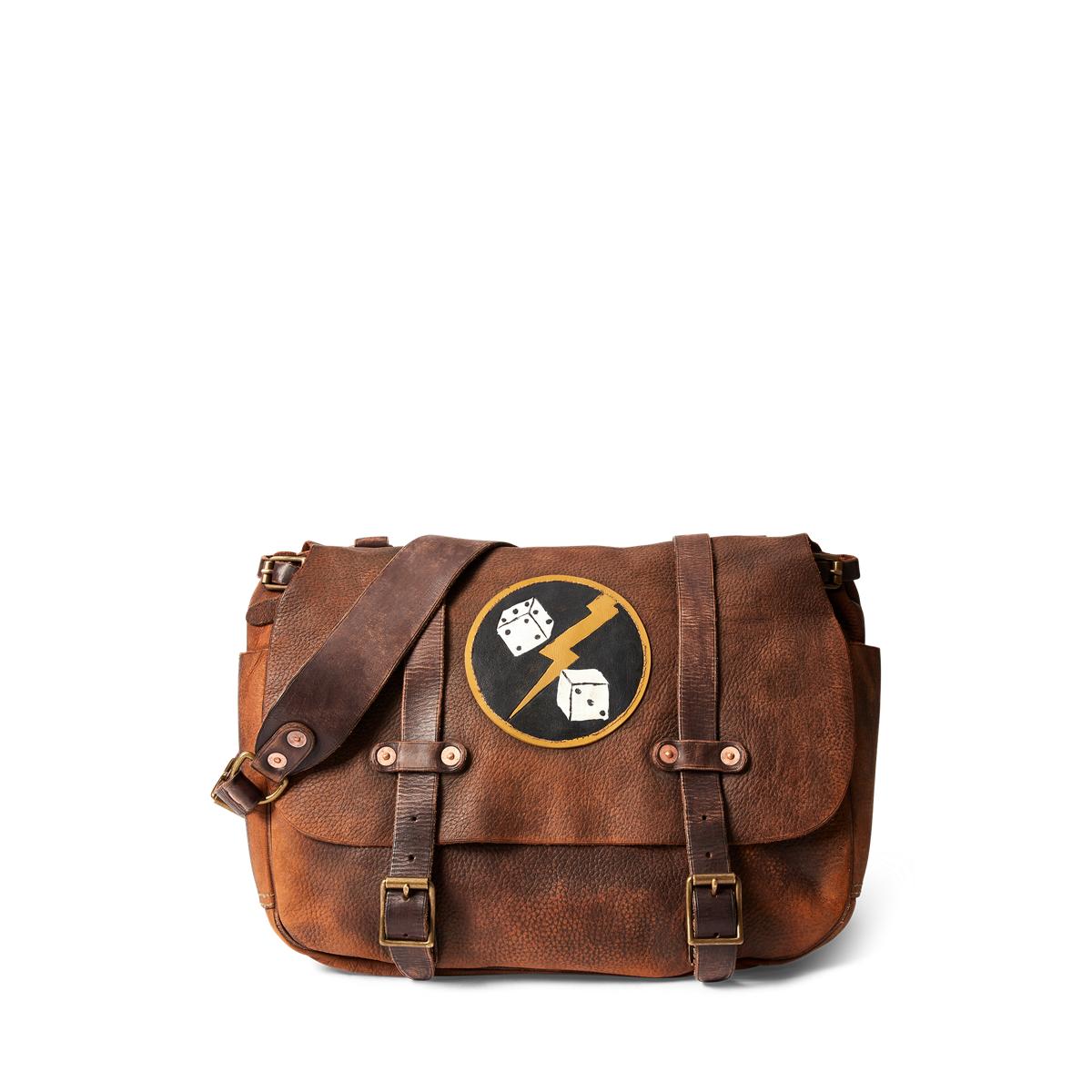 d28f7e1542 Distressed Leather Saddle Bag
