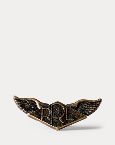 Winged Brass Pin