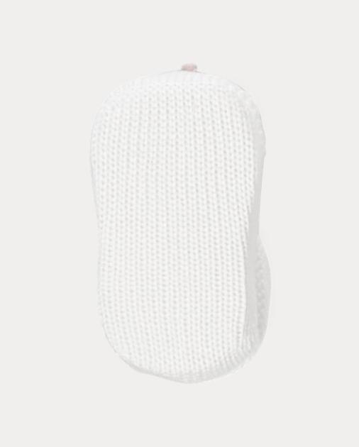 8fc2700f05 Rosette Cotton-Blend Booties   Socks & Tights ACCESSORIES   Ralph Lauren