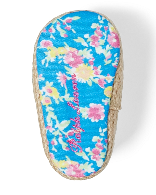 Baby Girl Bowman Floral Canvas Shoe 4