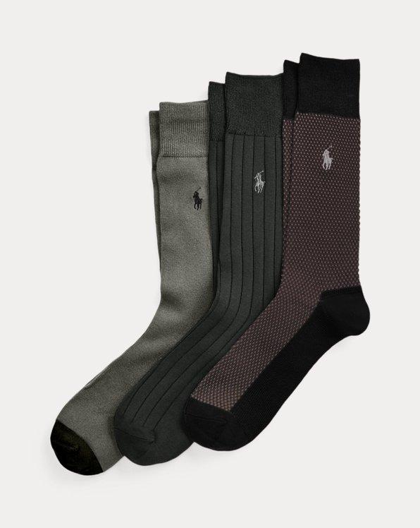 Birdseye Trouser Sock 3-Pack