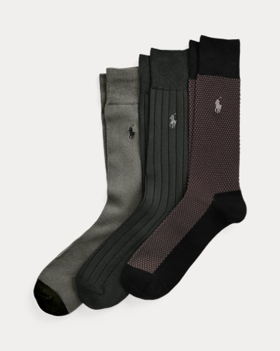 Birdseye Trouser Sock 3-Pack