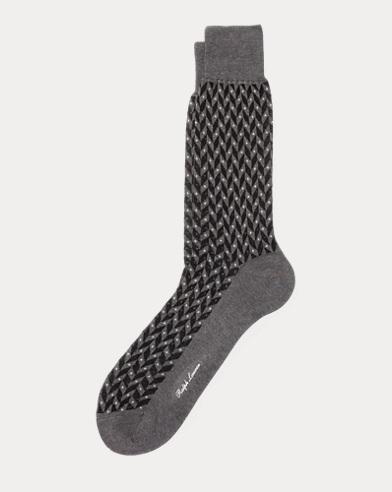 Dot Chevron Trouser Socks