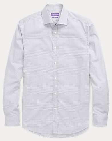 Windowpane Easy Care Shirt