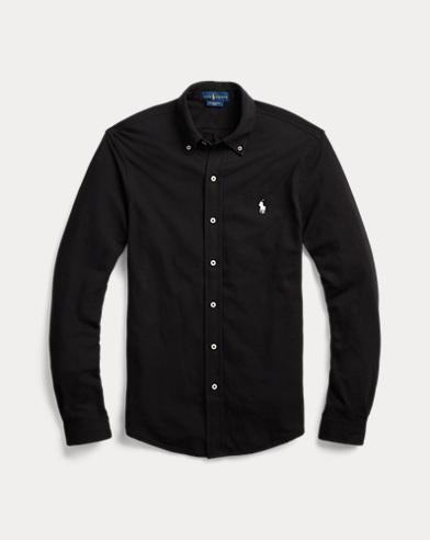 Classic Fit Cotton Mesh Shirt