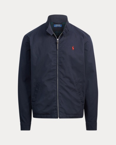 Cotton Twill Jacket. color (3)  College Navy · Polo Black · Luxury Tan. Polo  Ralph Lauren 87c339e639a