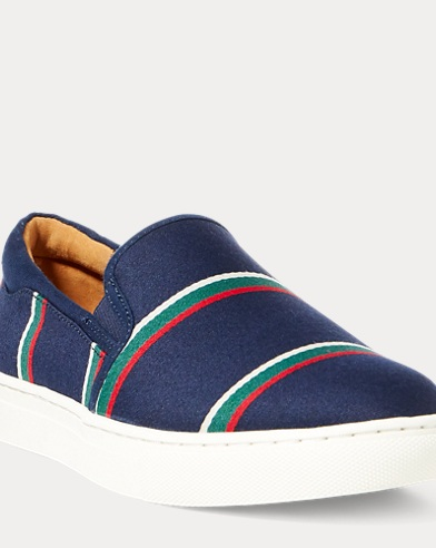 Drea Striped Slip-On Sneaker
