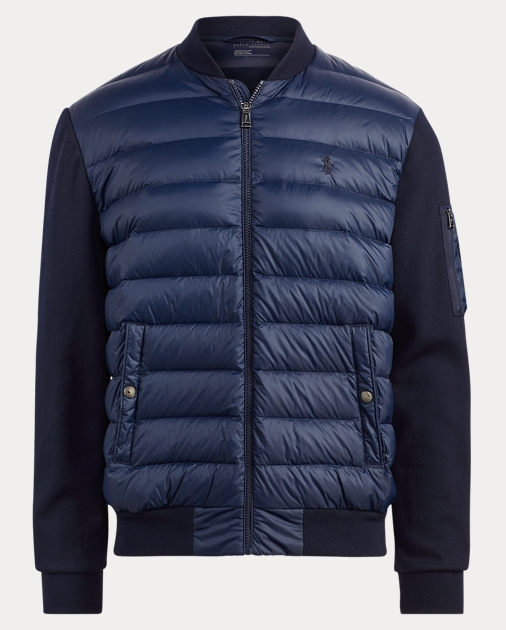05ca63f49 Polo Ralph Lauren Active Fit Down Bomber Jacket 1
