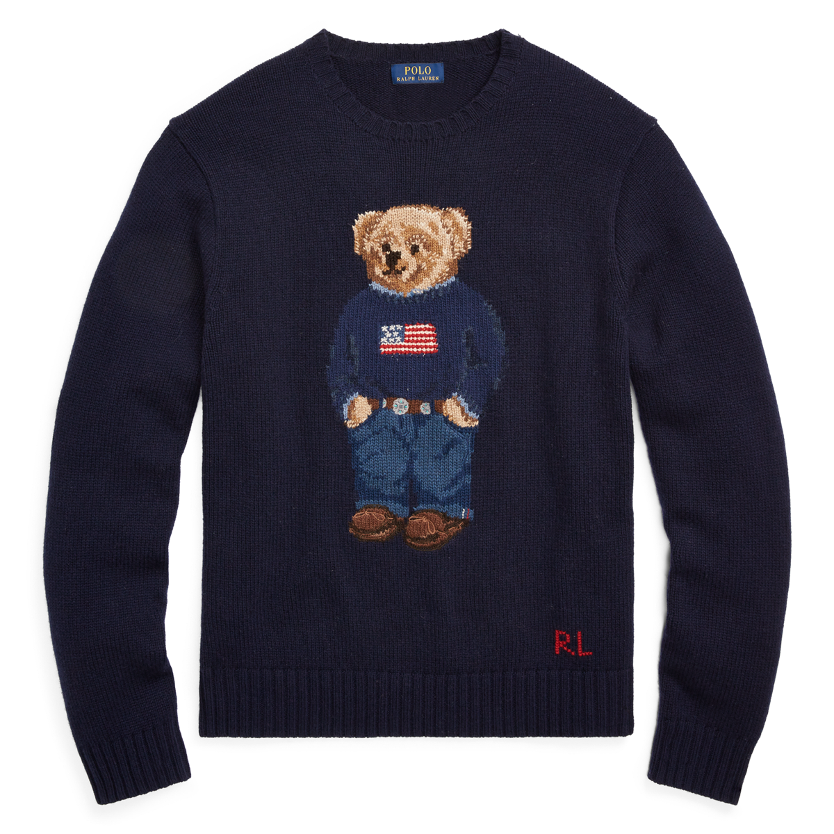 6ca46766165f9 The Iconic Polo Bear Sweater
