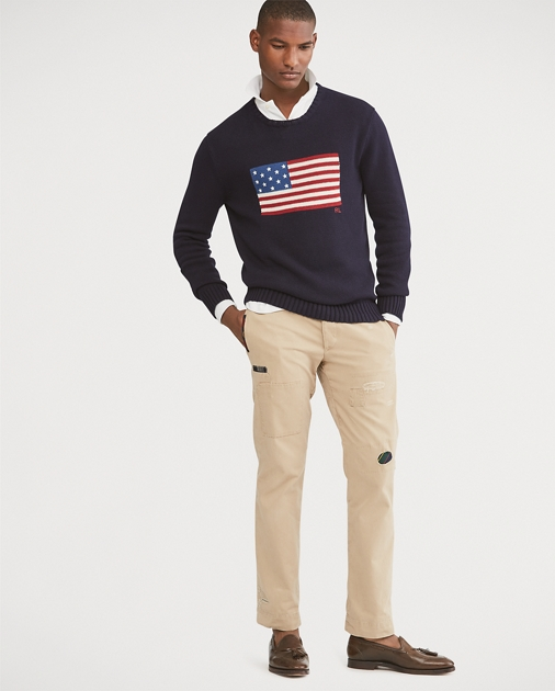 8c929dd9d612 Polo Ralph Lauren The Iconic Flag Sweater 1