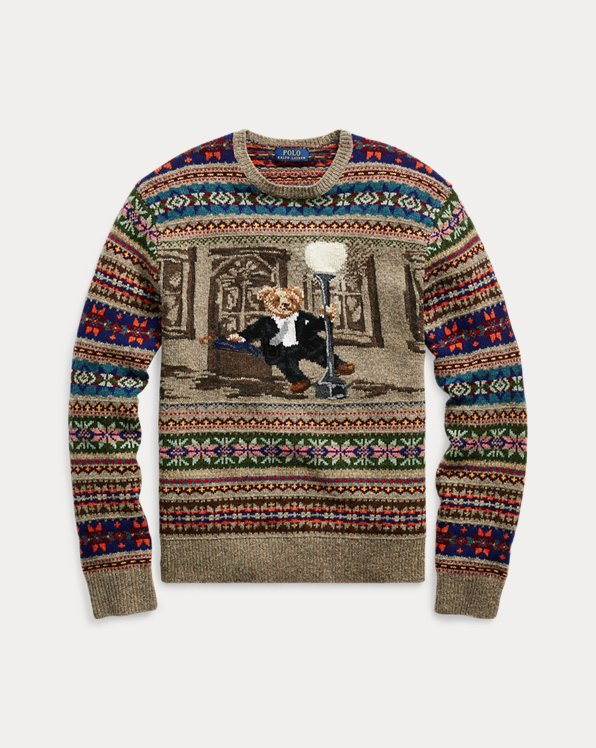 The Iconic Bear Isle Sweater