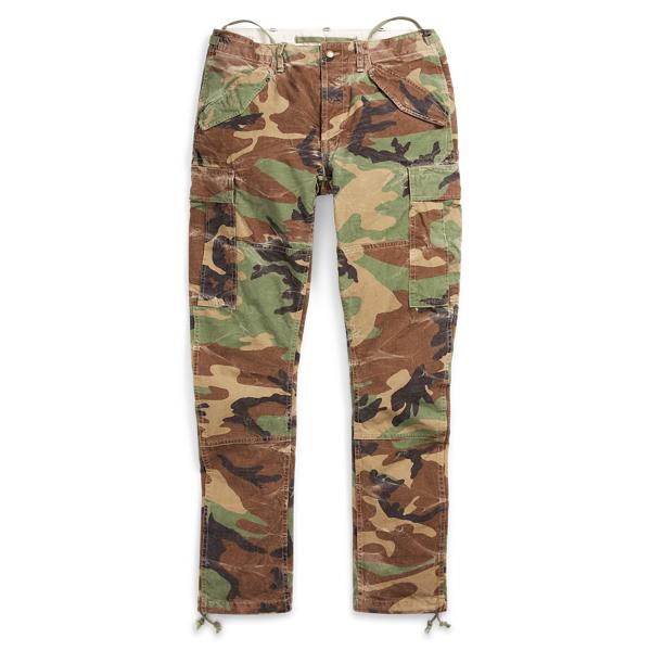 Ralph Lauren Slim Fit Camo Cargo Pant Surplus Camo 36