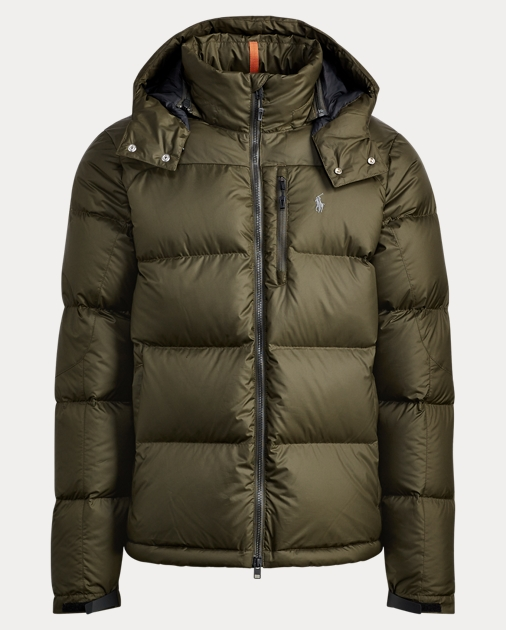 4f701165e8 Quilted Ripstop Down Jacket