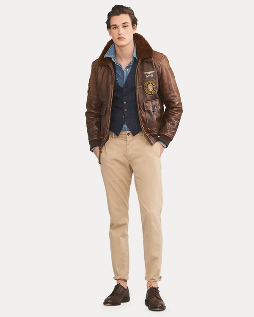 b66a16f504 Polo Ralph Lauren The Iconic G-1 Bomber Jacket 1