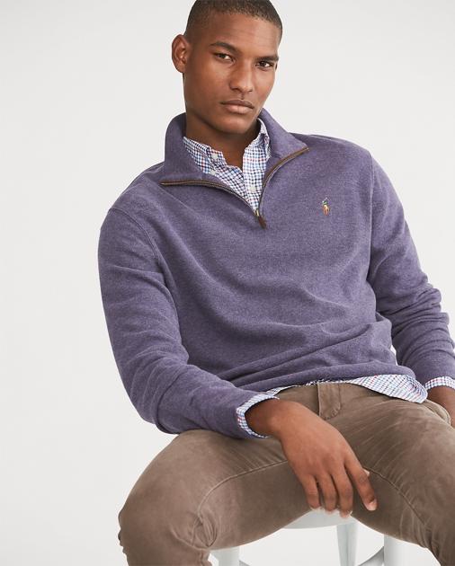940d735e3 Polo Ralph Lauren Estate-Rib Half-Zip Pullover 1