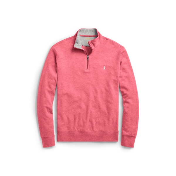 Ralph Lauren Luxury Jersey Pullover Salmon Heather L