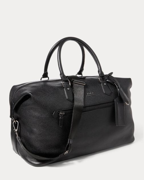 ffe804d0ec produt-image-1.0. produt-image-2.0. produt-image-3.0. Men Accessories Bags  Bags Pebbled Leather Duffel Bag. Polo Ralph Lauren