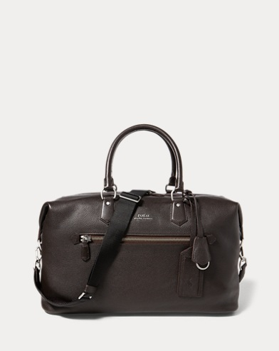 5cdad36930 Pebbled Leather Duffel Bag. Take 30% off. Polo Ralph Lauren