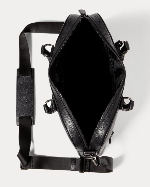 0318de4524e6 Polo Ralph Lauren Pebbled Leather Briefcase 5