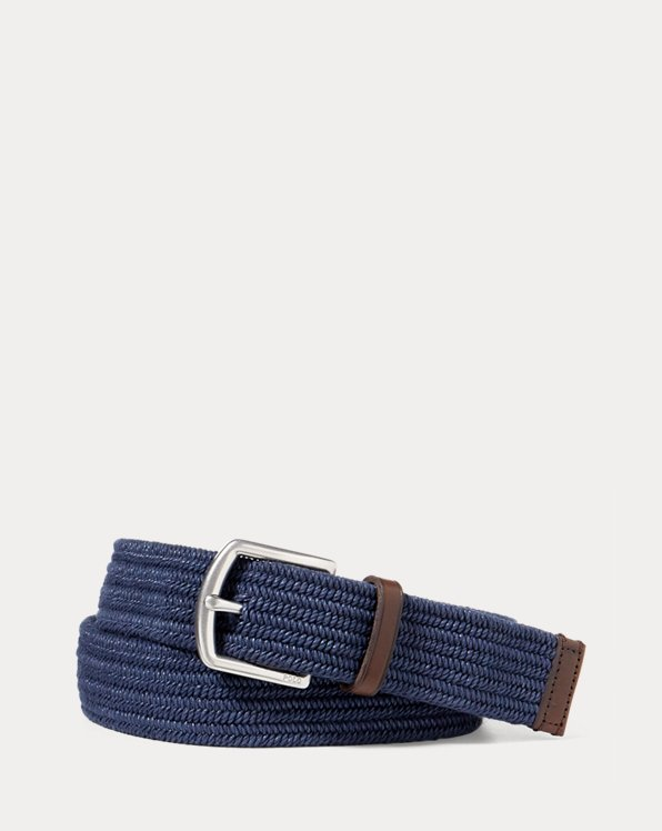 Stretch Waxed Cotton Belt