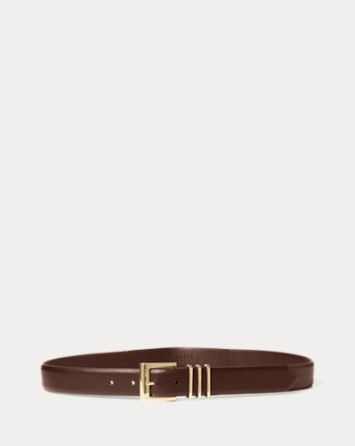 Triple-Keeper Vachetta Belt