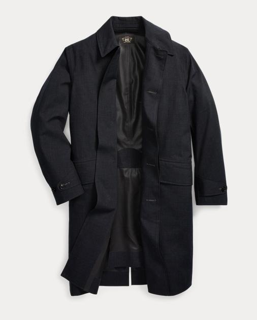 Rrl Waterproof Overcoat 3