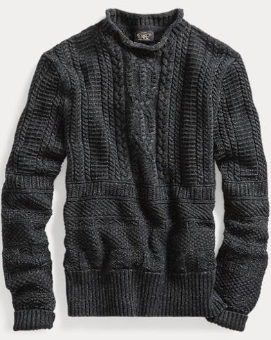Guernsey Mockneck Sweater