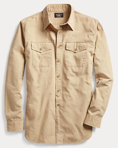 Cotton Military Shirt