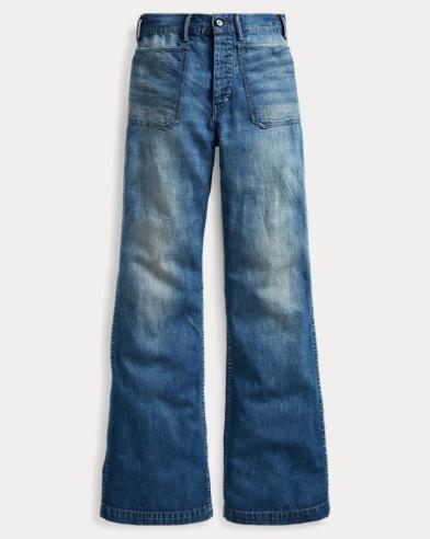 High-Rise Flared Jean