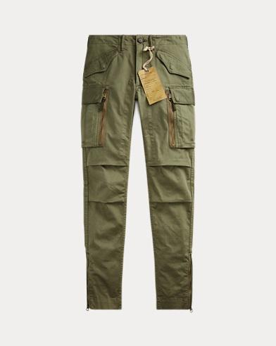 Stretch Skinny Cargo Pant