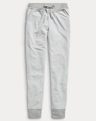 Striped Fleece Jogger Pant