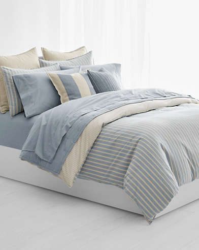 Graydon Striped Duvet Cover