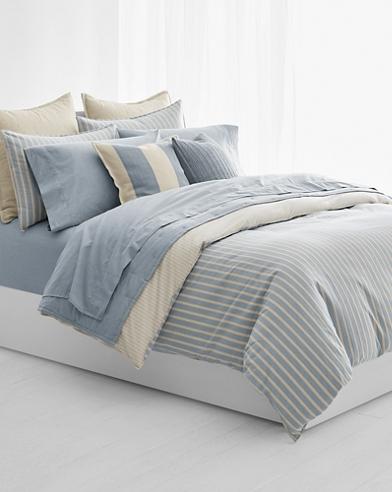 Graydon Striped Duvet Cover