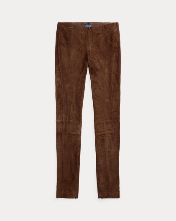 Suede Skinny Trouser