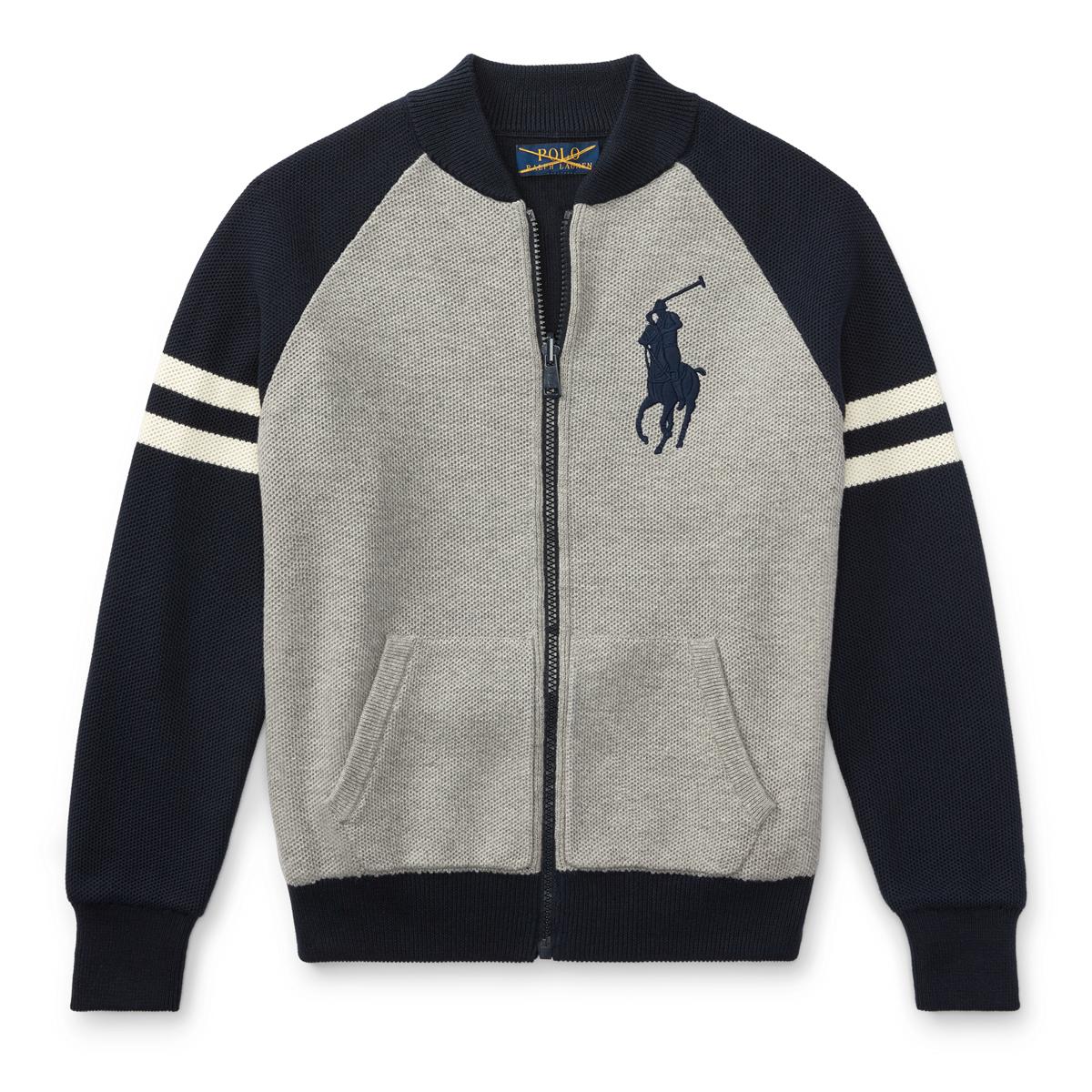 3455f4e203 Reversible Cotton Sweater | Sweaters Boys' 8-20 | Ralph Lauren