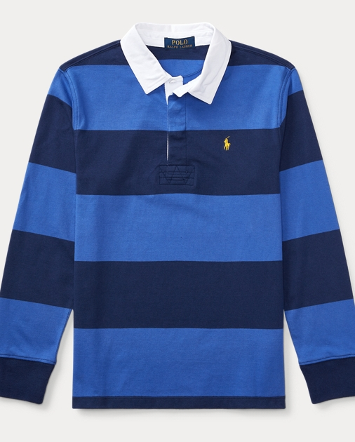56658e746 Boys 8-20 Cotton Jersey Rugby Shirt 1