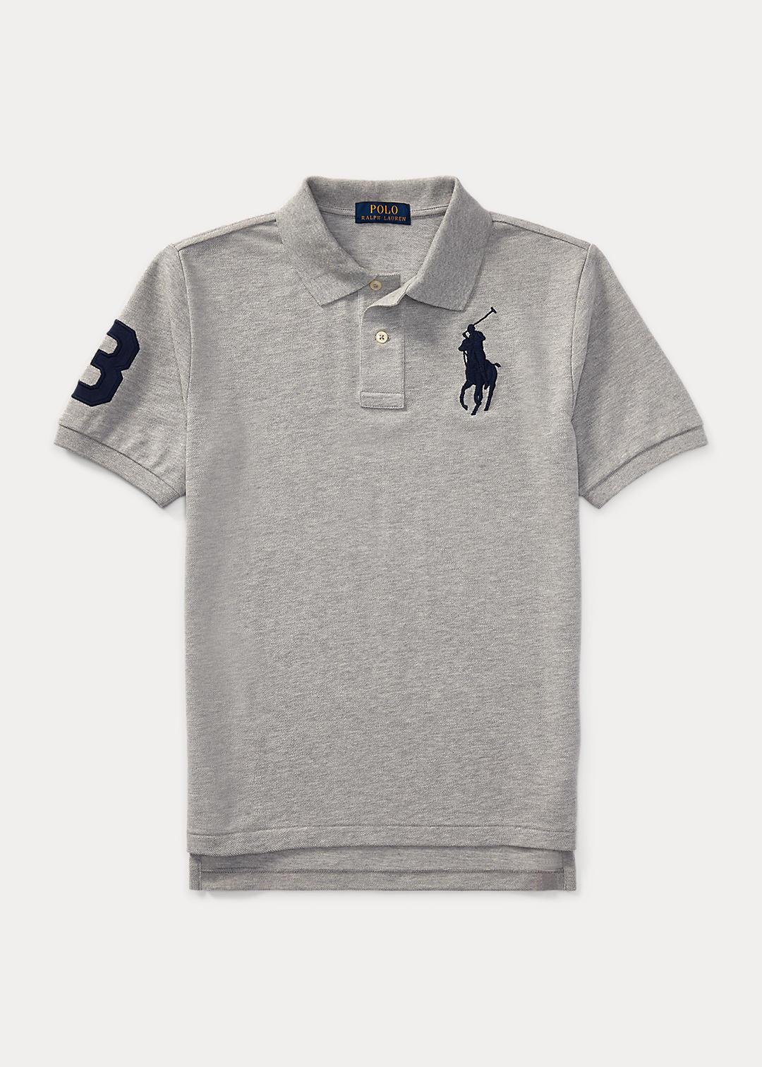 Big Pony Cotton Mesh Polo