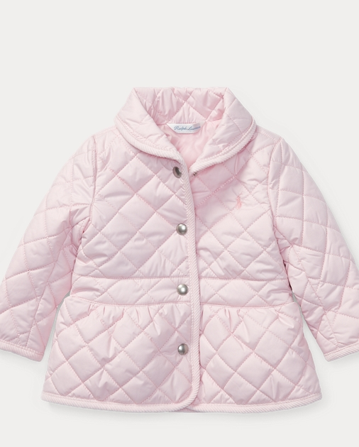 0af71a8b9 Quilted Barn Jacket | Outerwear & Jackets BABY GIRL (0-24 months ...