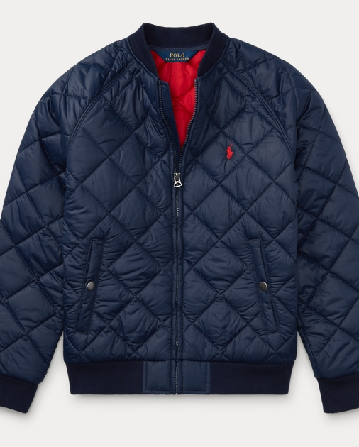 66e76d1051cc Quilted Baseball Jacket