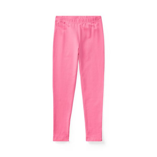 폴로 랄프로렌 Polo Ralph Lauren Bow Back Jersey Legging,Baja Pink