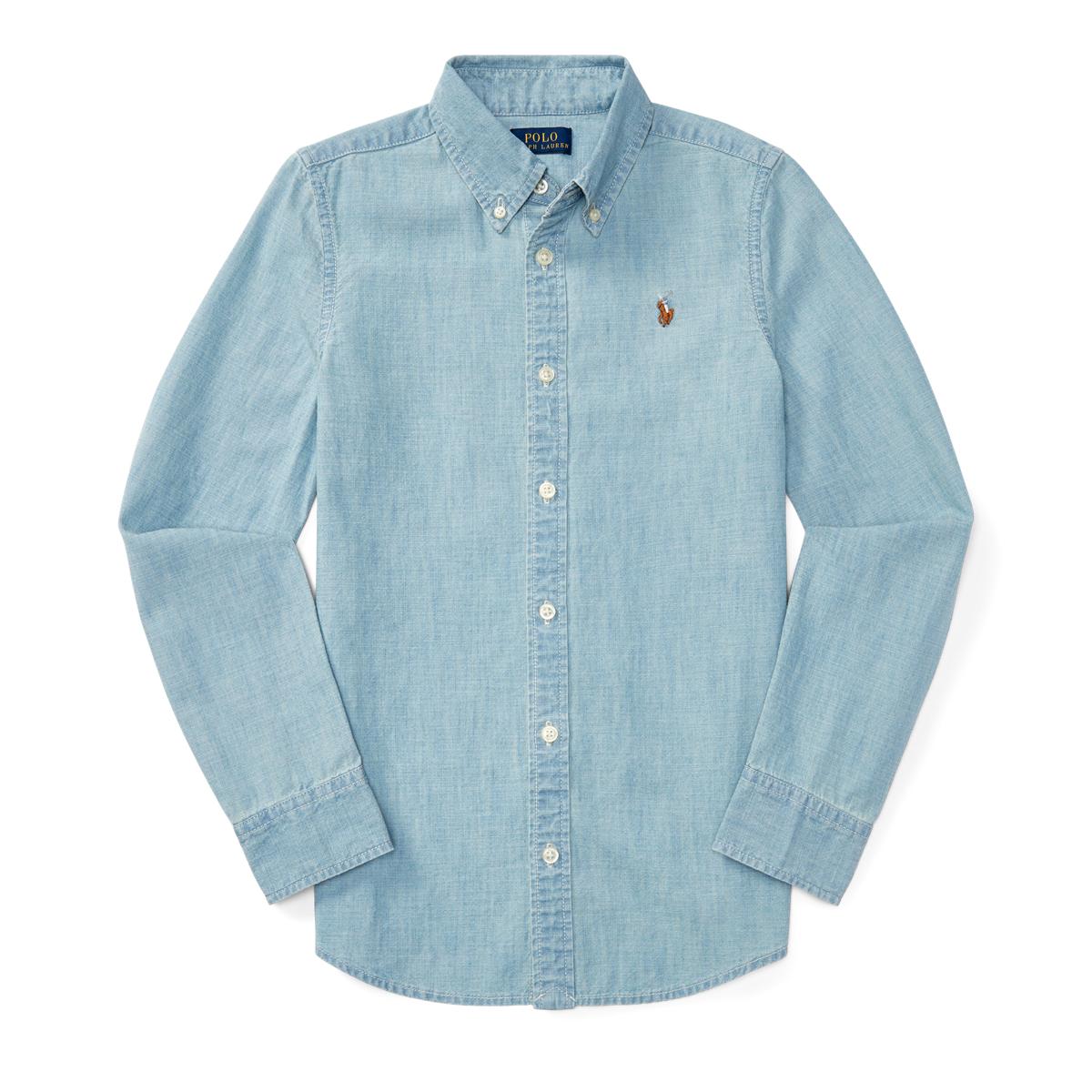 9be87ee0e5 Cotton Chambray Shirt   Ralph Lauren FR
